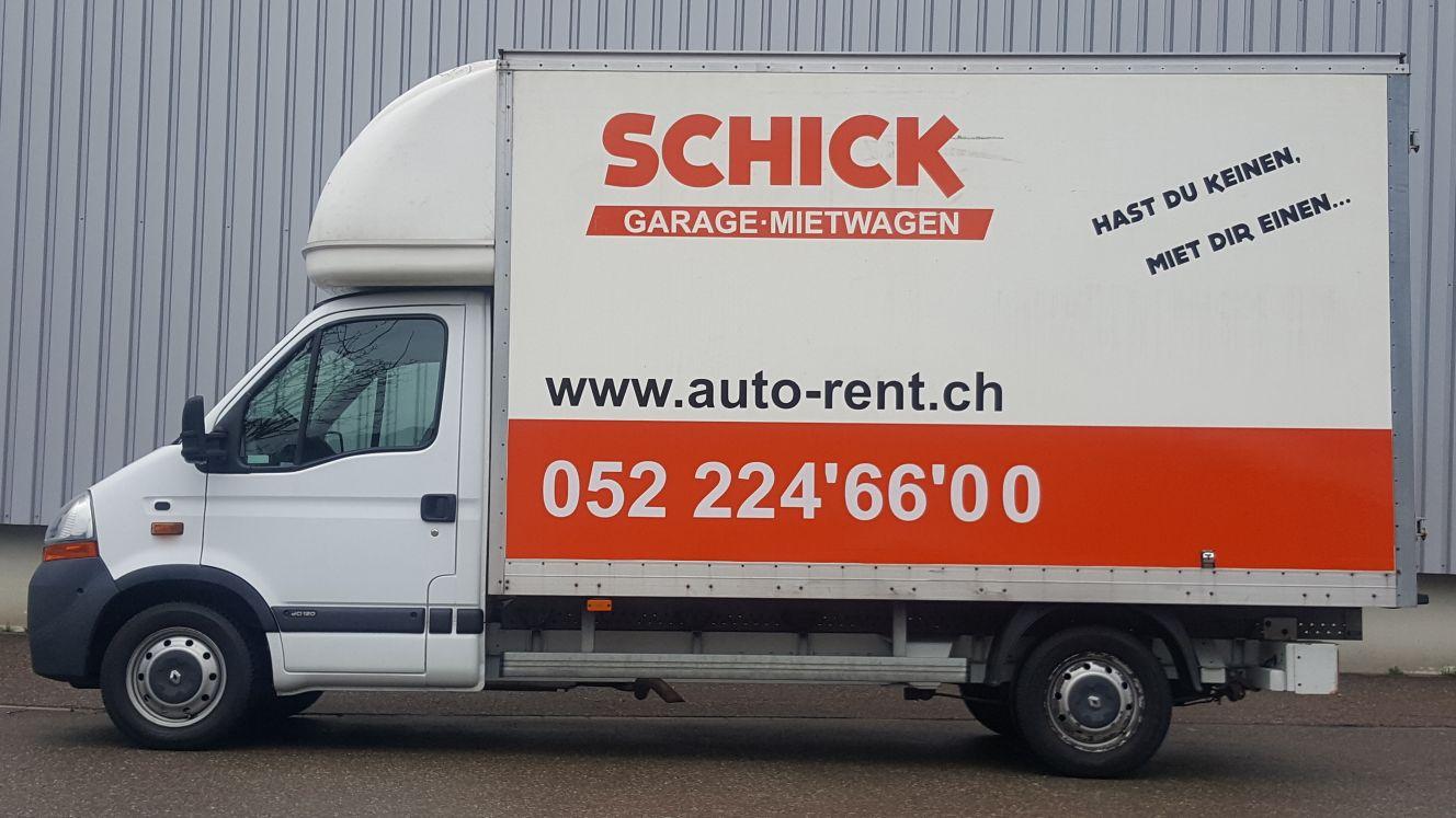lieferwagen z gelwagen auto miete in winterthur. Black Bedroom Furniture Sets. Home Design Ideas